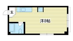 生田マンション 201の間取