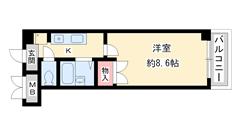 アートプラザ神戸西 4002の間取