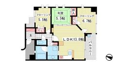 KAISEI新神戸第2EAST 1005の間取