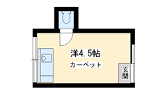 宮西アパート 207の間取