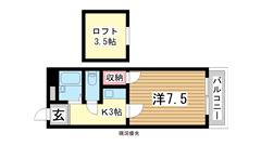 三木HOUSE 104の間取