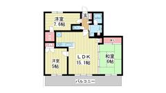 ライオンズタワー神戸旧居留地 1205の間取