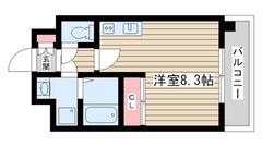 ベルヴィ六甲 310-C2の間取