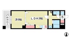 富士産業ビル 305の間取
