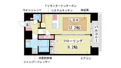 プレサンス神戸駅前グランツ 1402の間取
