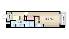 S-FORT神戸神楽町(旧willDo神楽町) 405の間取
