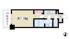 レジュールアッシュ神戸元町 702の間取