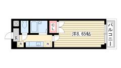 アートプラザ神戸西 3002の間取