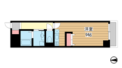 Current Kitagawa 302の間取