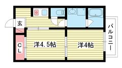 リッチライフ松本ST 202の間取