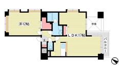 ビバリーハウス神戸パートⅡ 10Fの間取