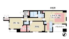 ワコーレ新長田駅前エス・プライム 803の間取