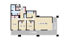 D'グラフォート神戸三宮タワー 1603の間取