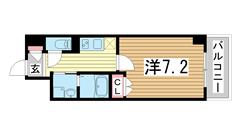 サニープレイス港島Ⅱ 908の間取