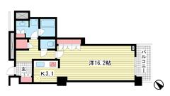 アーバンライフ神戸三宮ザ・タワー 2706の間取