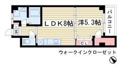 夢野アパートメント 403の間取