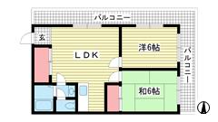 グランディア新神戸 208の間取