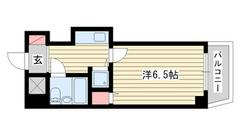 ホーユウコンフォルト新神戸 305の間取