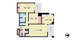 新神戸アパートメント 603の間取