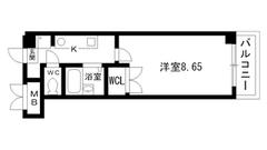 アートプラザ神戸西 4004の間取