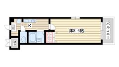 アートプラザ神戸西 4003の間取