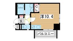 SDグランツ神戸大開 201の間取