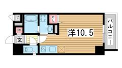 SDグランツ神戸大開 203の間取