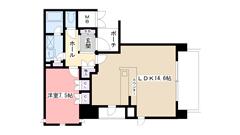 ルネ神戸旧居留地109番館 607の間取
