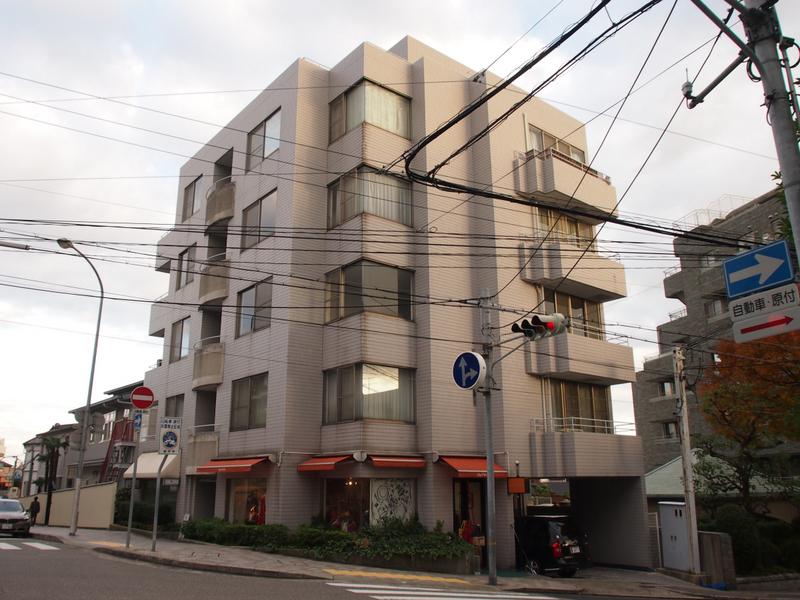 物件番号: 1025872183 六甲ヒルコート  神戸市灘区宮山町3丁目 2LDK マンション 外観画像