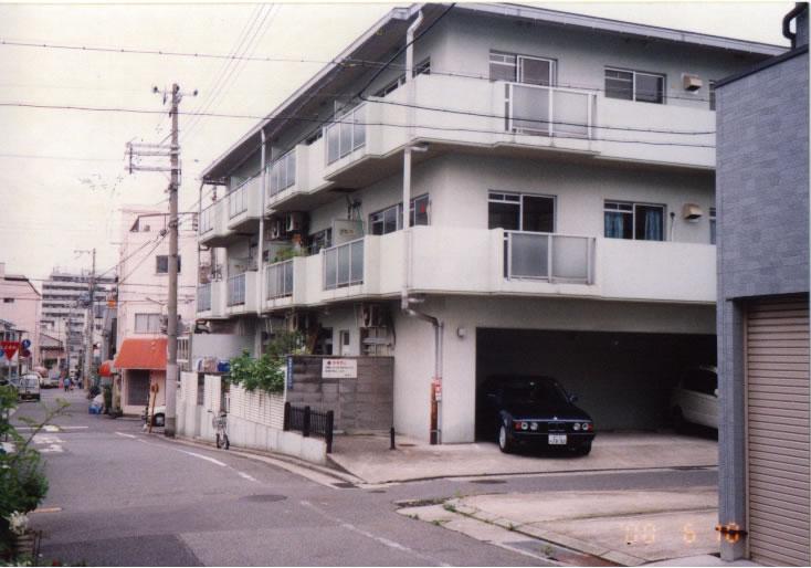物件番号: 1025800030 エバーグリーン東雲  神戸市中央区東雲通2丁目 3DK マンション 外観画像