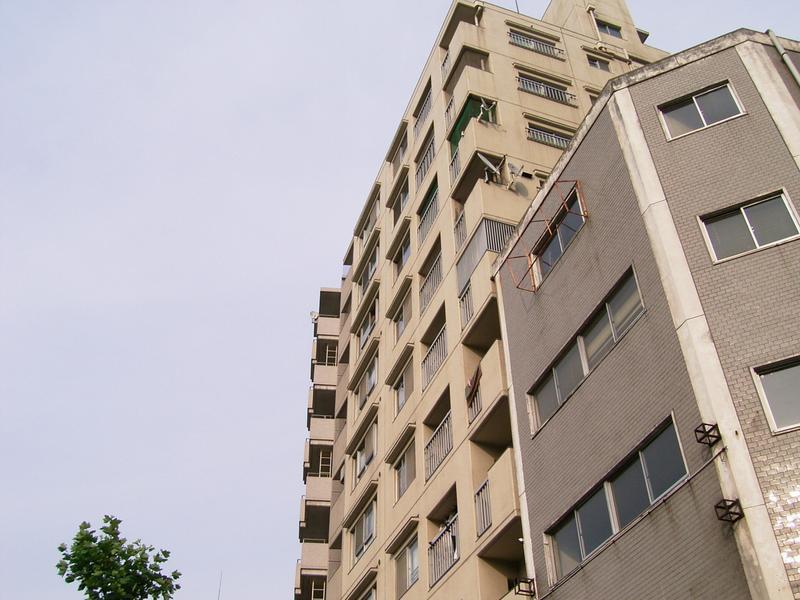 物件番号: 1025840991 エイコースカイハイツ  神戸市中央区中山手通2丁目 3LDK マンション 外観画像