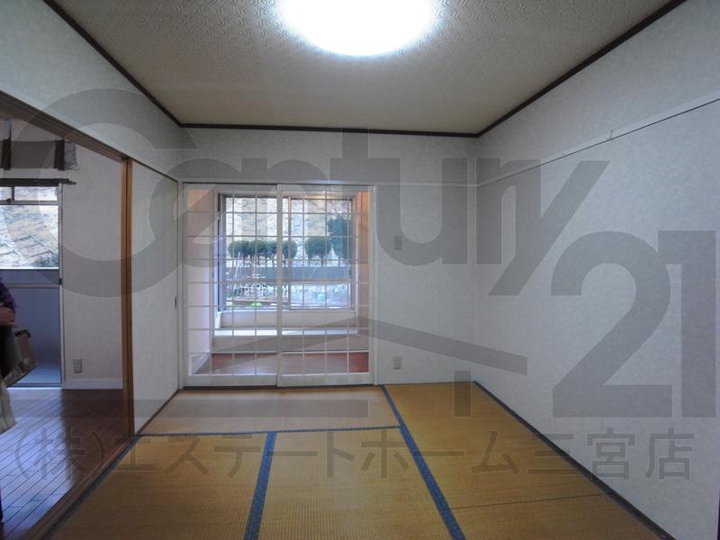 物件番号: 1025811000 北須磨マンションA-3  神戸市須磨区友が丘1丁目 3LDK マンション 画像2