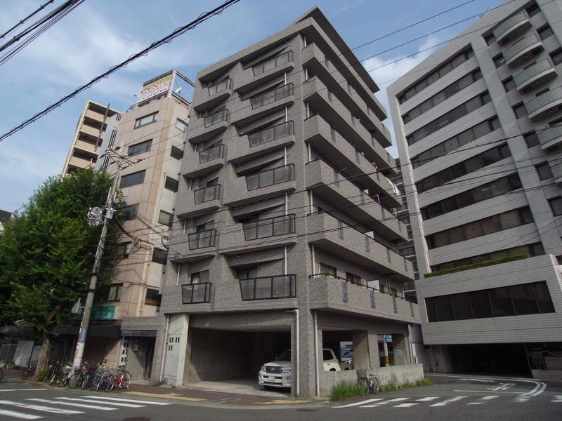 物件番号: 1025875319 ローレル三宮  神戸市中央区琴ノ緒町1丁目 2LDK マンション 外観画像
