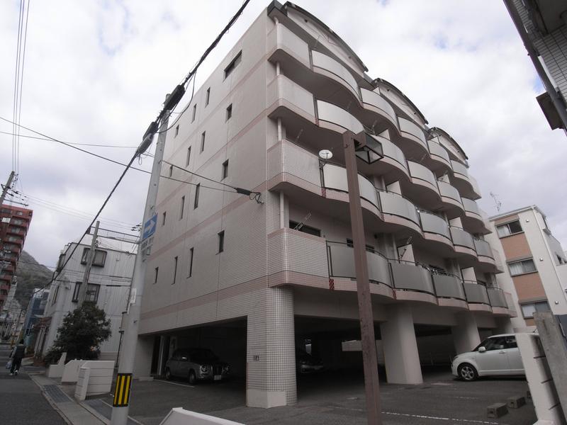 物件番号: 1025864429 ハイムあじさい  神戸市中央区熊内橋通6丁目 3LDK マンション 外観画像
