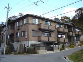 物件番号: 1025815067 フォレスト谷上  神戸市北区谷上南町 2LDK ハイツ 外観画像