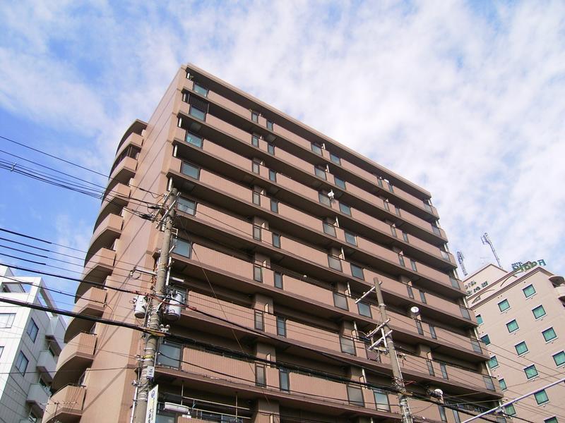 物件番号: 1025826812 サンシャイン三宮二番館  神戸市中央区二宮町4丁目 2LDK マンション 外観画像
