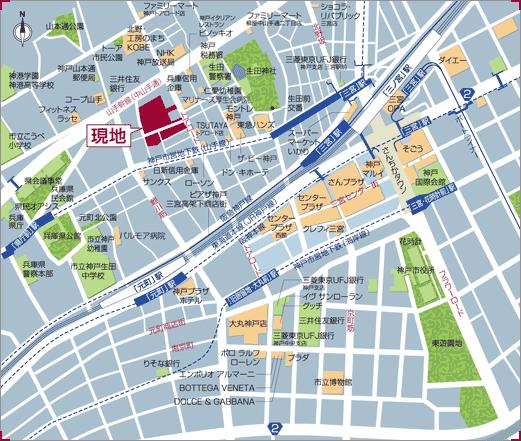 物件番号: 1025866455 トア山手 ザ・神戸タワー  神戸市中央区中山手通3丁目 2LDK マンション 画像1