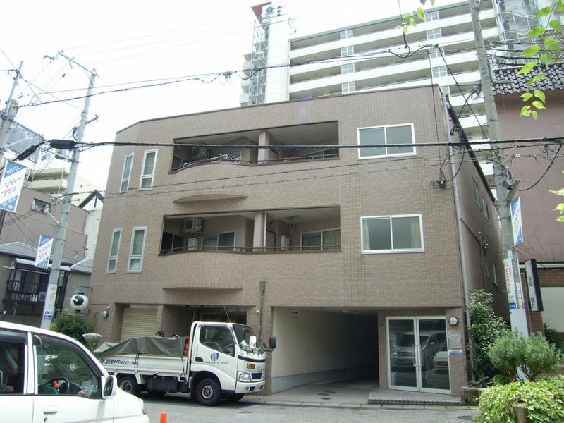 物件番号: 1025852881 サンライズ中山手  神戸市中央区中山手通2丁目 2DK マンション 外観画像