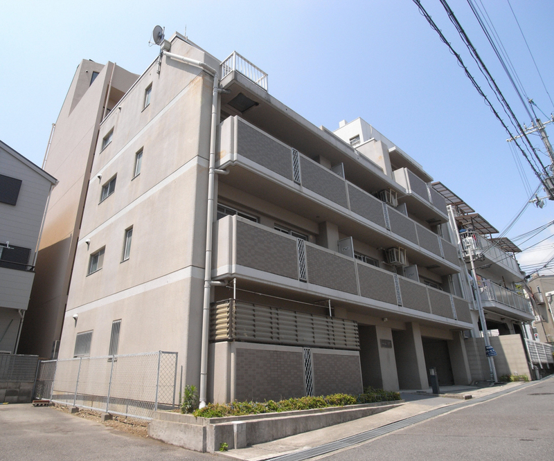 物件番号: 1025875220 シャルムMITI  神戸市中央区下山手通8丁目 2DK マンション 外観画像