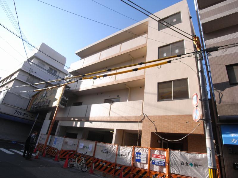 物件番号: 1025881551 ビリオン日暮  神戸市中央区日暮通4丁目 1K マンション 外観画像