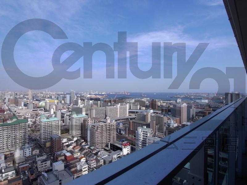 物件番号: 1025872397 シティタワー神戸三宮  神戸市中央区旭通4丁目 2LDK マンション 画像8