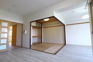 物件番号: 1025855549 中山手コーポ  神戸市中央区中山手通2丁目 2LDK マンション 画像5
