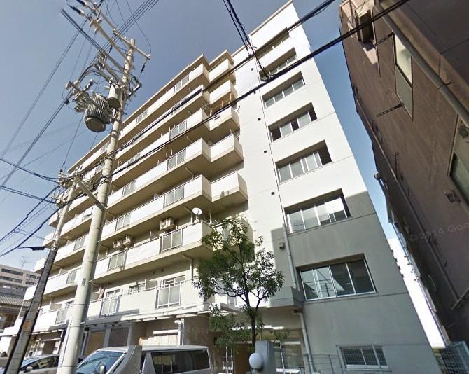 物件番号: 1025881208 グランドハイツ岸本  神戸市中央区日暮通1丁目 2DK マンション 外観画像