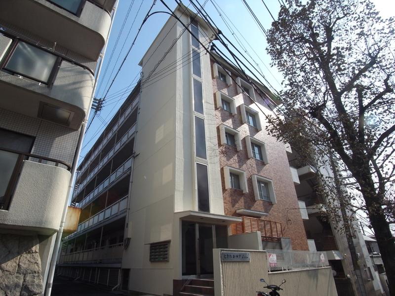 物件番号: 1025858984 ときわ新神戸レクラン  神戸市中央区熊内町5丁目 2LDK マンション 外観画像