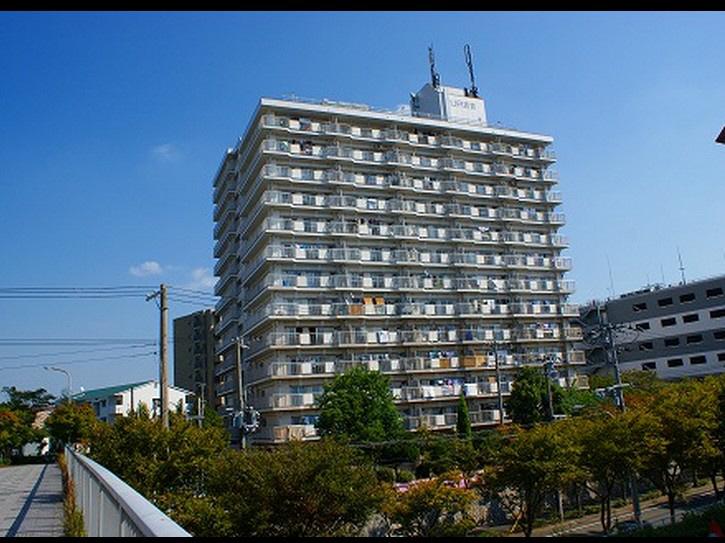 物件番号: 1025863540 ☆名谷駅前 440号棟(UR)  神戸市須磨区中落合3丁目 3DK マンション 外観画像