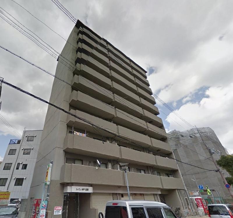 物件番号: 1025881602 ル・パレ神戸西館  神戸市兵庫区新開地4丁目 2LDK マンション 外観画像