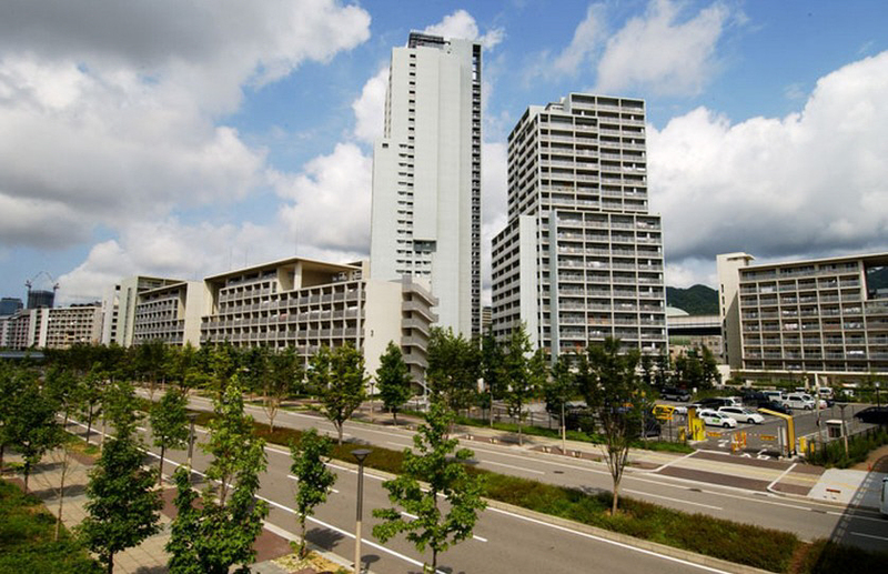 ☆HAT神戸・脇の浜4番館(UR) 711の外観