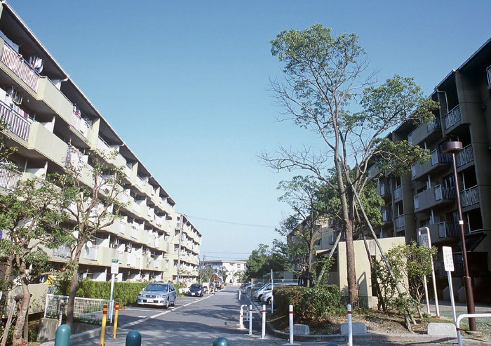 物件番号: 1025863541 ☆横尾 3号棟(UR)  神戸市須磨区横尾9丁目 3LDK マンション 外観画像