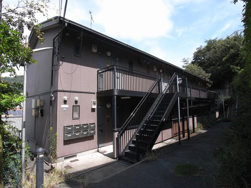 物件番号: 1025866588 中山手ガーデンパレスC棟  神戸市中央区中山手通7丁目 1LDK ハイツ 外観画像