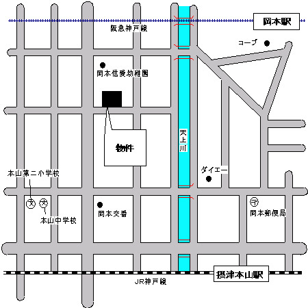 物件番号: 1025875630 岡本パーク・レジデンス  神戸市東灘区岡本2丁目 3LDK マンション 画像5